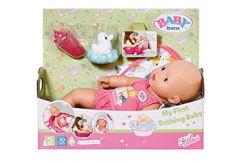 Baby Born 827345 First Bathing Baby 30 cm, Mehrfarbig