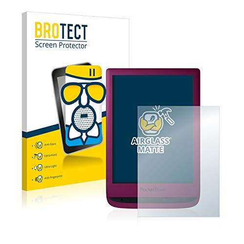 BROTECT Antireflecterende Glas Screenprotector compatibel met PocketBook Touch Lux 5 – Anti-Glare Beschermglas met 9H…