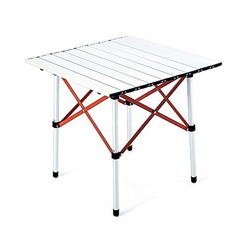 GYH zhuozi LJHA Table Pliante/Table carrée/Table de Salle à Manger extérieure Pliante/Table Pliante Ultra-légère / 50 * 50 * 50CM Table