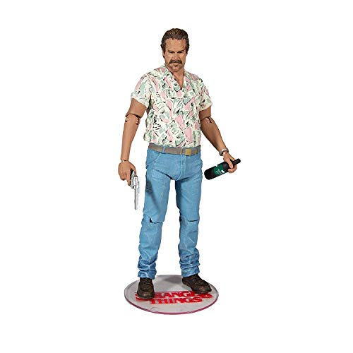 McFarlane Stranger Things Chief Hopper 7 Inch Figura de Acci