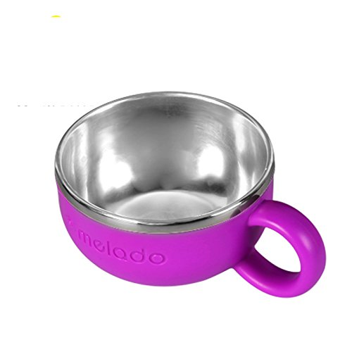 "Sale!! ""Dazzle Color"" Stainless Steel Bowl (Mini) (violet,120ml)"