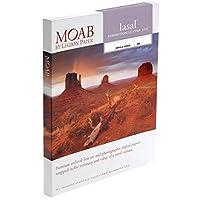 Moab Lasal Exhibition Luster 300 アーカイブラスター 300 GSM 11ミル インクジェットペーパー 13x19インチ (A3+) 50枚