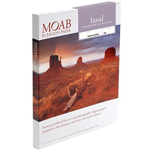 Moab Lasal Exhibition Luster 300 Papier (5x7) 50 Blatt