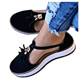 Hemlock Women Wedge Shoes Thick Bottom Shoes Closed Toe Shoes Espadrilles Casual Strappy Sandals Shoes