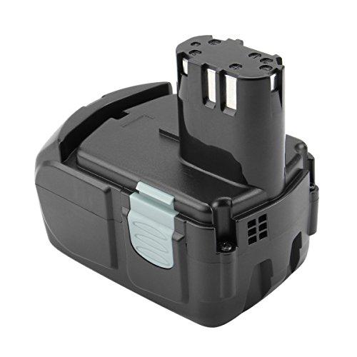 Exmate 18V 3000mAh batteria di ricambio agli ioni di litio per HITACHI BCL1815 BCL1830 327730 327731