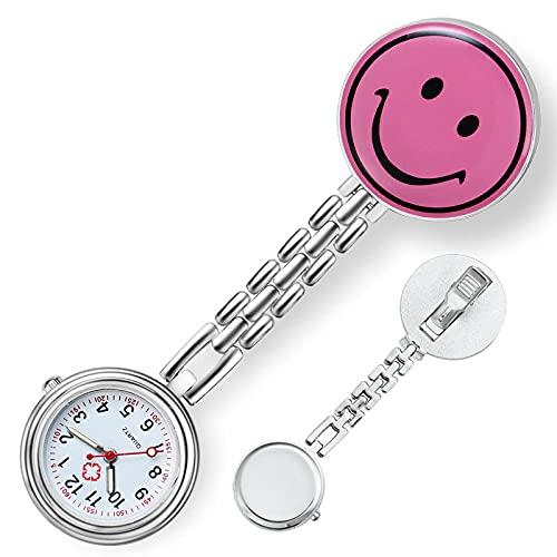 LLRR Reloj de Enfermera Fob,Nueva Mesa Colgante de Amor de Moda para Hombres y Mujeres, Cofre médico watch-16,Reloj de Bolsillo para Enfermera