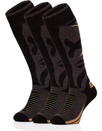 Ladeheid Hombre Calcetines de Esquí Calcetines Deportivos 518V2