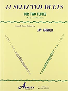 44 Selected Duets for Two Flutes - Book 1  Easy/Intermediate