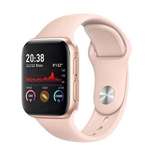 Hartslagmeter Slimme Armband Bluetooth Oproep Horloge Hartslagmeter Stappenteller Oefeningsgeschiktheid Tracker,Pink