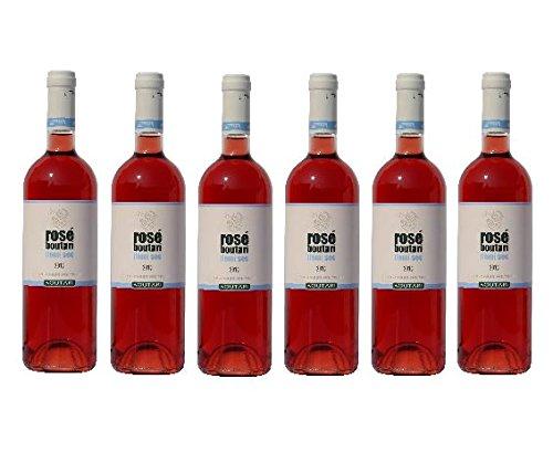6x Boutari Demi Sec Rosewein Rose Wein Griechenland halbtrocken je 0,75L + 2 Probier Sachets Olivenöl aus Kreta a 10 ml