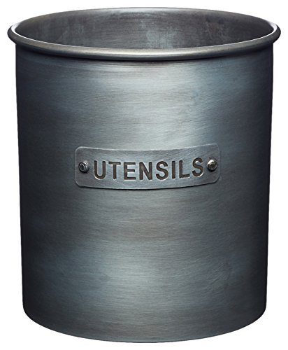 KitchenCraft Kitchen Industriale da Cucina, Metallo, Grigio (Grey), 13.5 x 13.5 x 14.5 cm