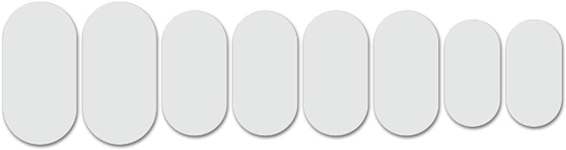 Lizard Skins - Kit de protección para cuadro de adultos, unisex, color blanco