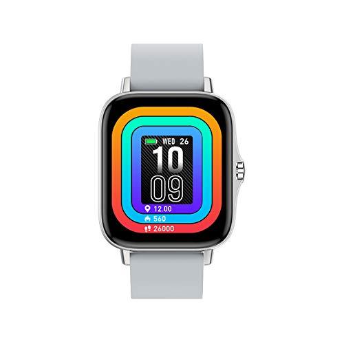 Smartwatch, braccialetto fitness con cardiofrequenzimetro Orologio fitness impermeabile IP68 contapassi orologio sportivo