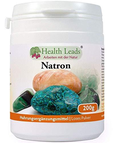 Natron (Loses Pulver) 200g | Optionen für mehrere Größen