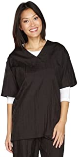 Top Performance V-Neck Grooming Smocks - Comfortable Pull-Over Nylon Tops for Professional Pet Groomers - Small