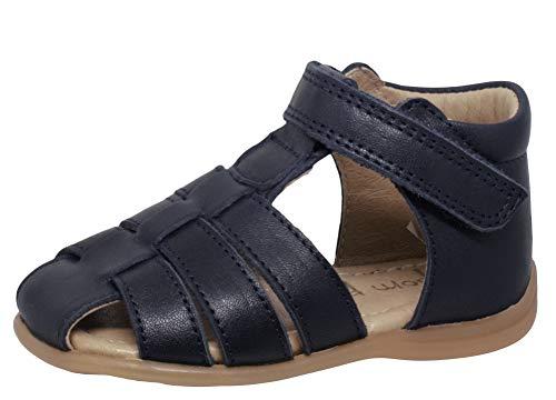 pom pom Sandalen 6390 Baby Kleinkinder Unisex Klett Blau, Schuhgröße:EUR 20