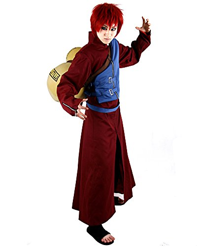 Gaara Cosplay Costume From Naruto Shippuden