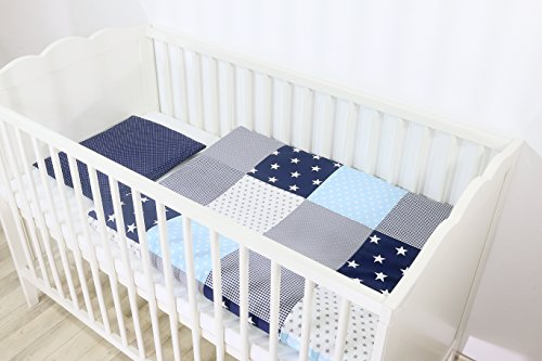 ULLENBOOM ® Babybettwäsche Set