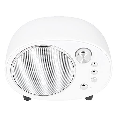 Heayzoki Altavoz Bluetooth, Mini Altavoz de Música Portátil Bluetooth Multifuncional, Altavoz de Audio Inalámbrico, Material ABS, Firme y Durable.(Blanco)