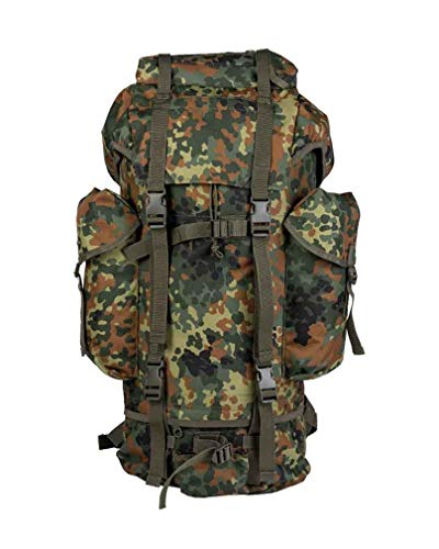 Mil-Tec BW combat backpack 600D 35 litres, mens, 14039521, Camouflage, 32 x 15 x 64 cm