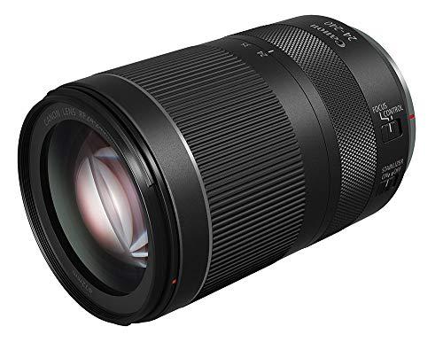 Canon Zoomobjektiv RF 24-240mm F4-6.3 IS USM für EOS R (72mm Filtergewinde, Bildstabilisator, 10fach Zoom, Nano USM, 5 Stufen IS, ca. 750g), schwarz