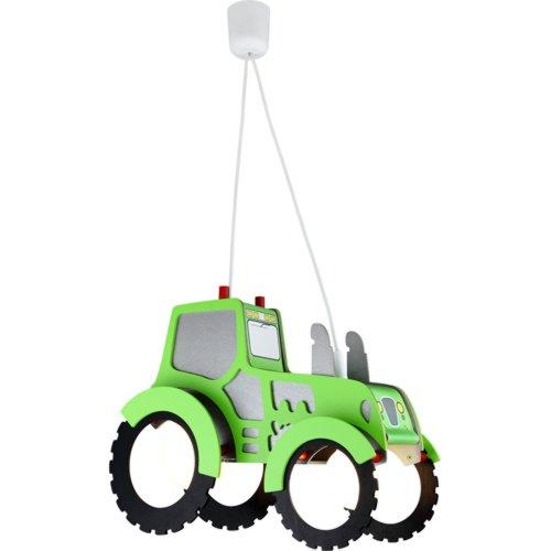 CEE A, Elobra Sospensione Tractor - Legno 2 lampadine