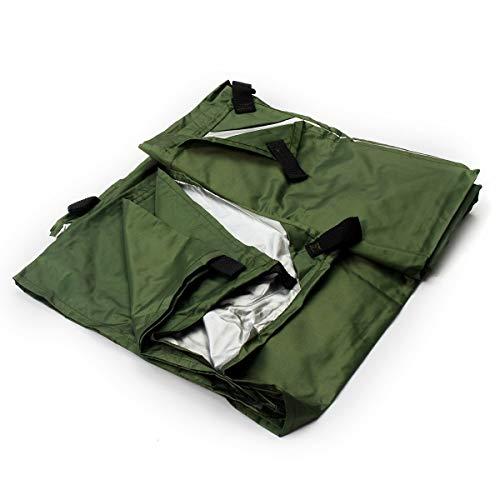no-branded Tarp Tarpaulin Waterproof Sun Shelter Tarp Survival Camping Climbing Outdoor Tent Patio Sun Shade Awning Canopy 3mx3m Waterproof Tarp MDYHJDHYQ