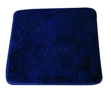 MSV 140190 Tapis de Bain 60x40cm en Acrylique en Bleu, 30x20x110 cm