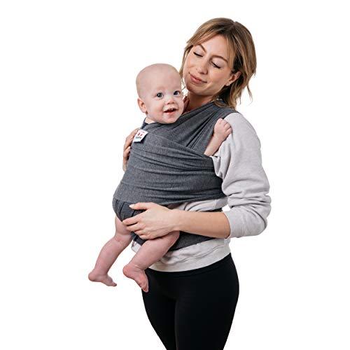 Scadia Fular Para Bebé Elástico | Rebozo Para Bebés y Recién Nacidos | De 0 a 36 Meses | Diseño Ergonómico Ideal Para Porteo