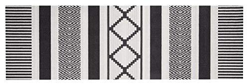 Bavaria Home Style Collection - Tappeto passatoia per cucina, corridoio, cucina, lavabile, tappeto da cucina, antiscivolo, a pelo corto, design moderno, 140 x 45 cm urban