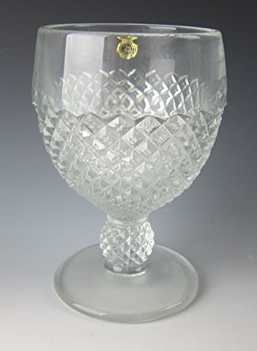 Westmoreland ENGLISH HOBNAIL-CLEAR (Ball Stem) Water Goblet(s) EXCELLENT