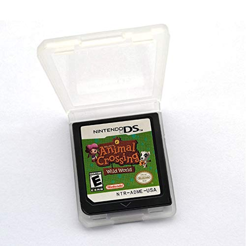 Animal Crossing Game Card Wild World compatible with Nintendo DS/DSi / 3DS XL