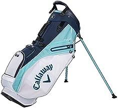 Callaway Golf 2021 Fairway 14 Stand Bag, Double Strap White/Blue/Navy