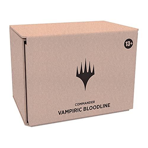 Magic: The Gathering Innistrad: Crimson Vow Commander Deck – Vampiric Bloodline | Minimal Packaging Version