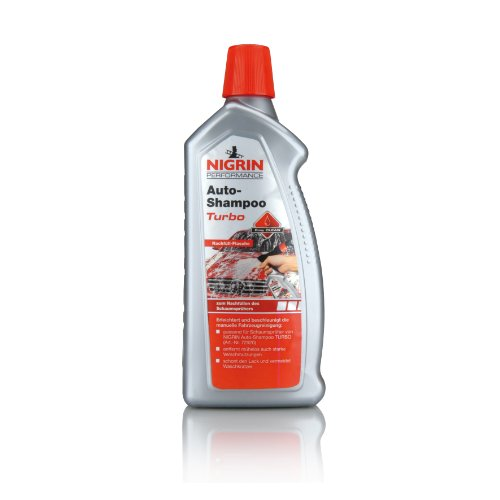 NIGRIN 72921 Turbo Shampoo Nachfüllflasche, 1 L