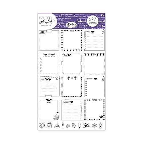 WAFF–03919–Stampo Planner Seite Kalender