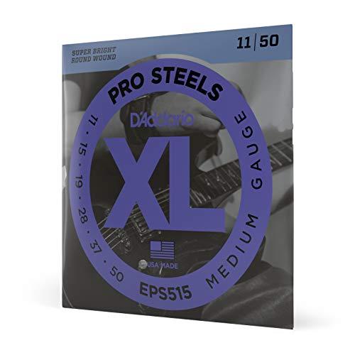 D'Addario EPS515 Pro Steels Saitensatz (Intervall von .011 bis .050 Zoll)