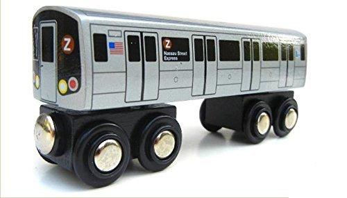 Munipals MP01-110Z Wooden Subway Train New York City MTA Z Nassau Street Express