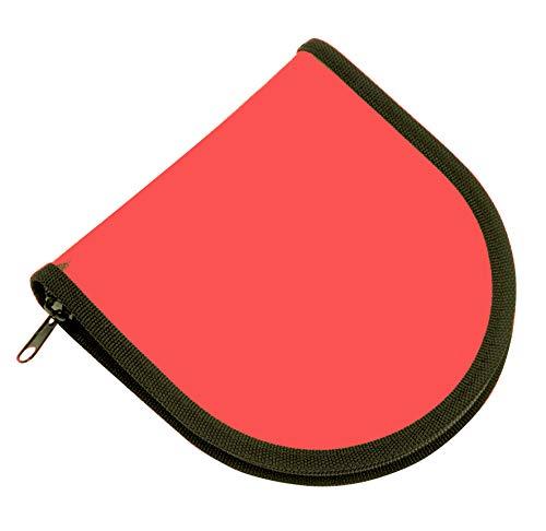 Porta CD da 20 Posti Colore Rosso Neon