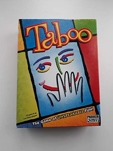 Milton Bradley Taboo - the Game of Unspeakable Fun (1989 Edition) by Milton Bradley