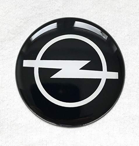 4 Stk 50mm Rad Mitte Aufkleber für Radkappen OpelLogo Embleme Mittelkappen 3D