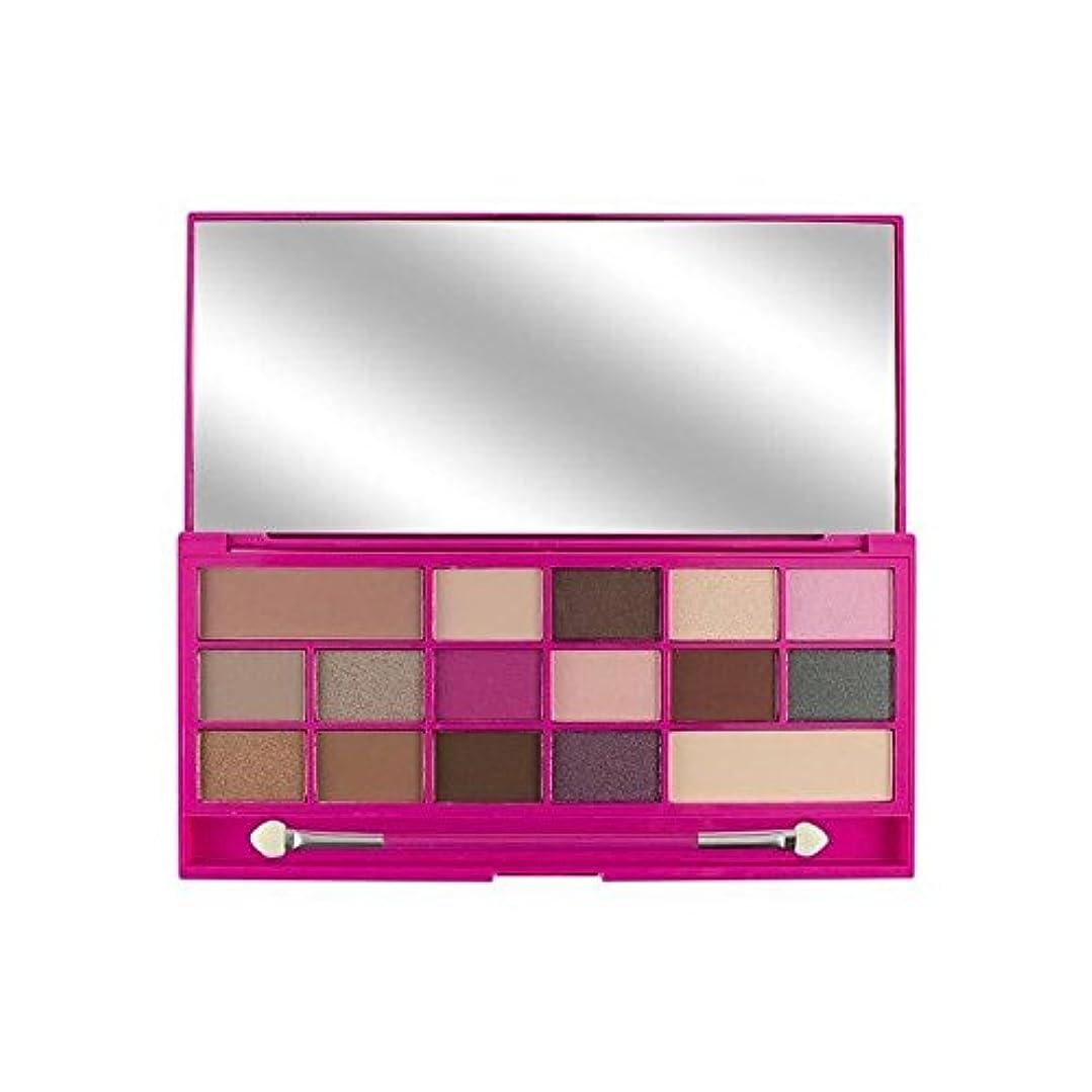 I Heart Makeup Eyeshadow Palette Chocolate Love (Pack of 6) - 私は心のメイクアップアイシャドウパレットチョコレートの愛 x6 [並行輸入品]