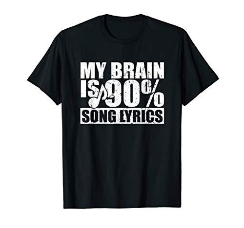 Musiker Musikschule Musikinstrument Spruch Geschenk T-Shirt