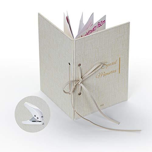 SIMPLY RSB Greeting Card Organizer Kit | Transform Your Wedding Cards into a Forever Greeting Card Binder, Greeting Card Holder and Greeting Card Keeper