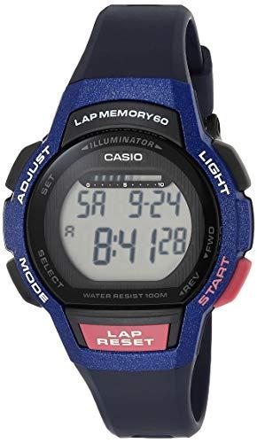 Casio Women's 'Runner Series' Quartz Resin Running Watch, Color:Purple (Model: LWS-1000H-2AVCF)