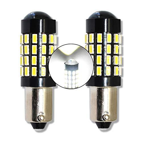 MCK Auto - H6W BAX9s LED CanBus Conjunto de bombillas blancas muy claras y sin errores compatibles con F30 F31 F34 Reemplazo para bombillas amarillas - Transforme su coche