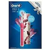 Oral-B Pro 1 750 Design Edition - Cepillo de dientes eléctrico para una limpieza profunda de los dientes, 1 programa de limpieza, sensor de presión, temporizador y estuche de viaje, 1 cepillo 3DWhite