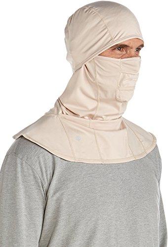 Coolibar Masque de Protection UV Unisexe L Beige