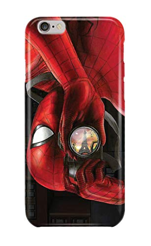 Carcasa para iPhone 7 Spiderman Peter Parker Marvel Comics Superhero 16 Diseños