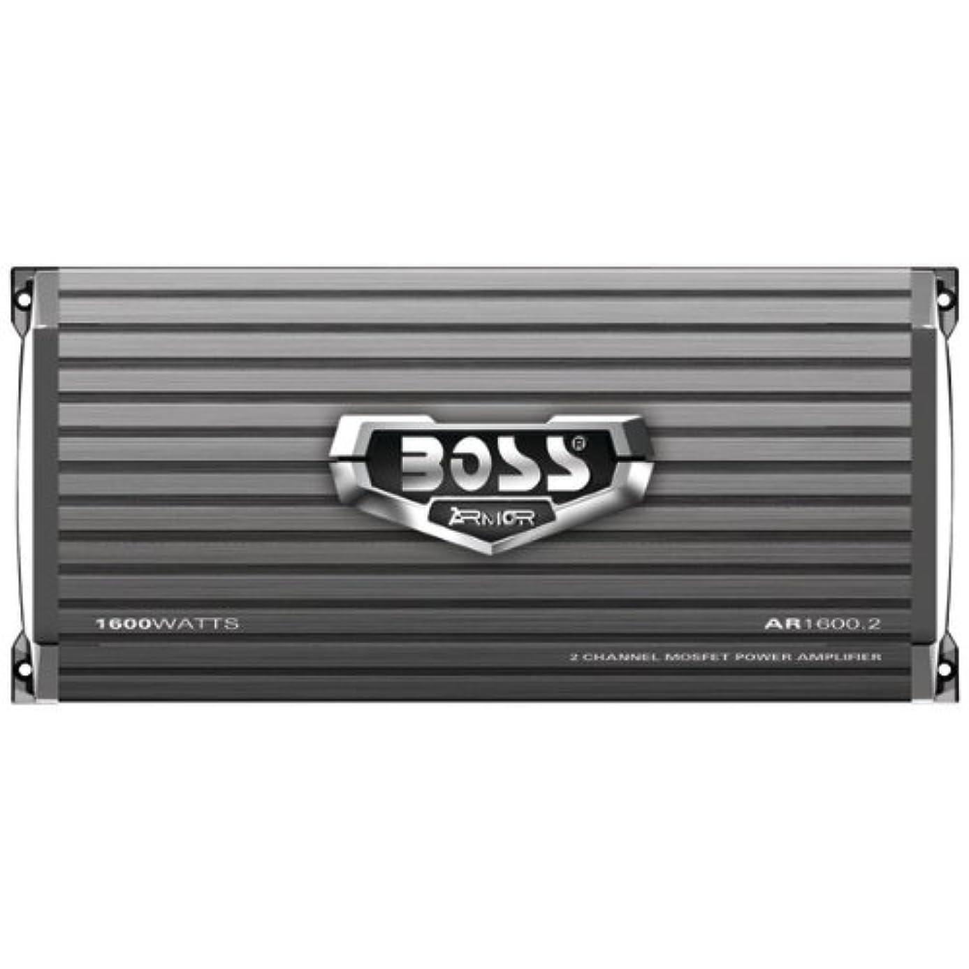 NEW BOSS AR1600.2 1600W 2-Channel Car Audio Amplifier Power Amp + Remote AR16002